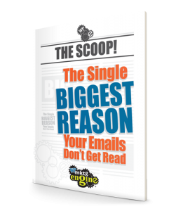 WP Marketing Engine The Scoop! The Single Biggest Reason Your Emails Don't Get Read eBook