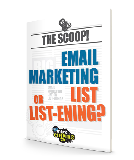 WP Marketing Engine - The Scoop Email Marketing List or Listening